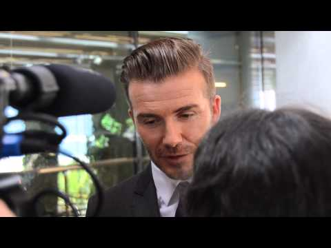David Beckham Interview: MLS In Miami