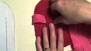 Woven Felt Heart Basket Tutorial