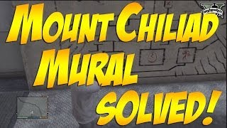 GTA 5: Mount Chiliad Mural Solved! How To Read It