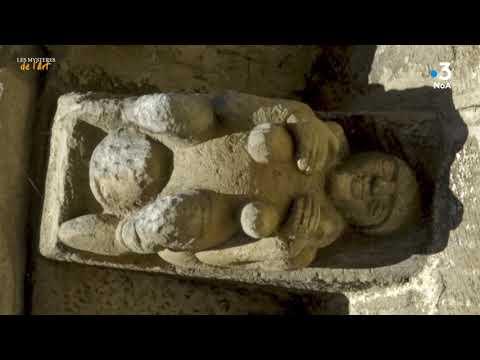Les Mystères de l'Art - La sculpture érotique de Saint Pierre de Monbos à Thénac (24)