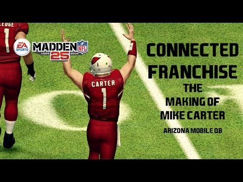 Madden 25 Connected Franchise Create A Player The Making of Mike Carter Mobile QB