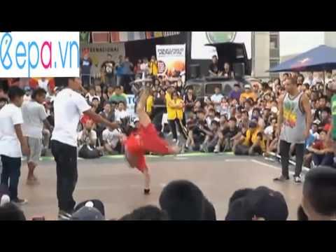 Những pha nhảy hiphop của giới trẻ
