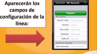 Configuración Línea Adicional IP Móvil En Softphone