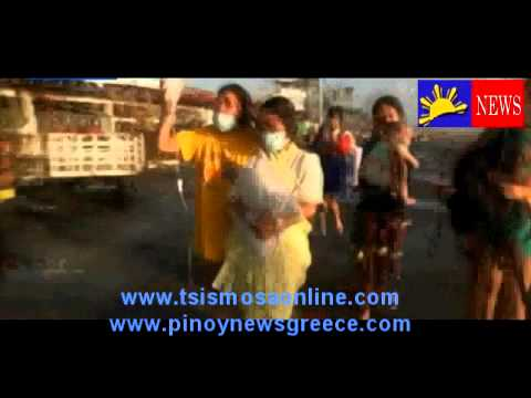 Filipina gave birth during the Super Typhoon Yolanda (Haiyan),after death hope for Philippines