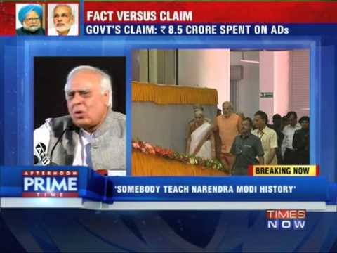 Kapil Sibal openly challenges Narendra Modi to a debate