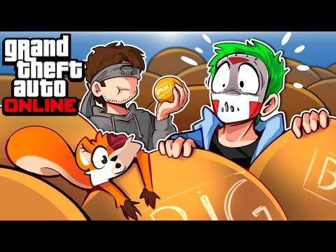 GTA 5 - GIANT BALLS,  INVINCIBLE MODDED TANKS AND CLONE ARMY!!! (Funny Moments & Hackers)