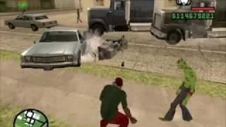 Un Día De Zombies GTA San Andreas (con La Voz De Loquendo