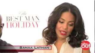 [Nia Long says she Punched Sanaa Lathan on set of Best Man Ho...] Video