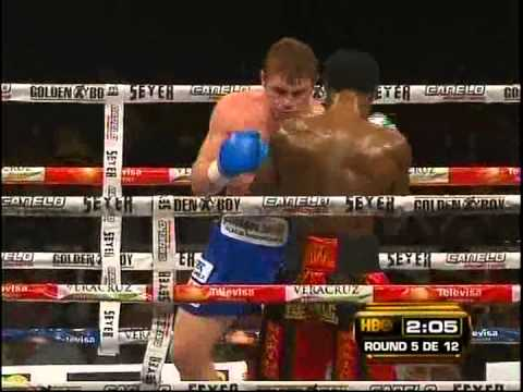 Hình ảnh trong video Saul Canelo Alvarez vs Lovemore N'dou