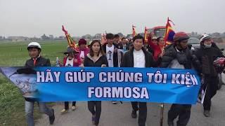 Thao Teresa: Bà con giáo xứ Song Ngọc đang đi bộ thay cho cả dân tộc Việt Nam
