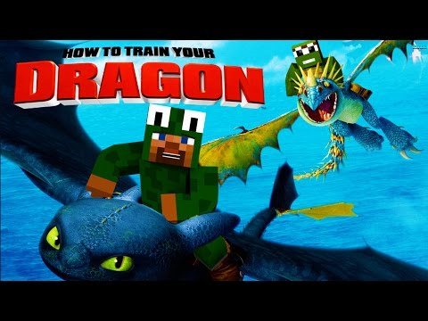 Minecraft - HOW TO TRAIN YOUR DRAGON 2 - [1] 'Isle of Berk'
