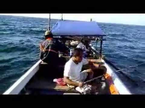 SFC : Mancing Kakap Merah dan Kerapu Sunu dikedalaman 80m-100m, East Borneo -  Juni 2013 (Bg.1)