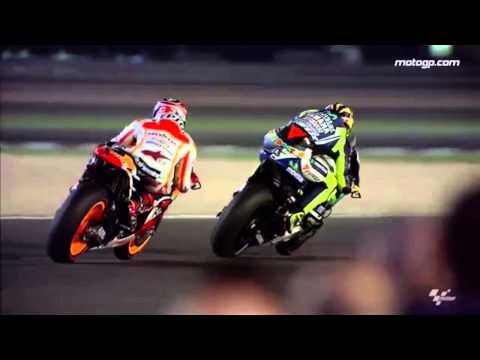 MotoGP - Valentino Rossi and Marc Marquez