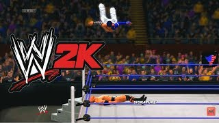 WWE 2K14 Jeff Hardy Vs The Rock Caw Here Comes The Pain