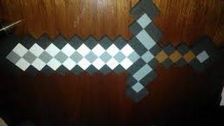 Como Hacer Una Espada De Minecraft Real Y Casera