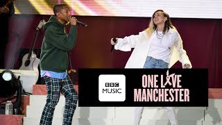 Pharrell Williams and Miley Cyrus - Happy (One Love Manchester)
