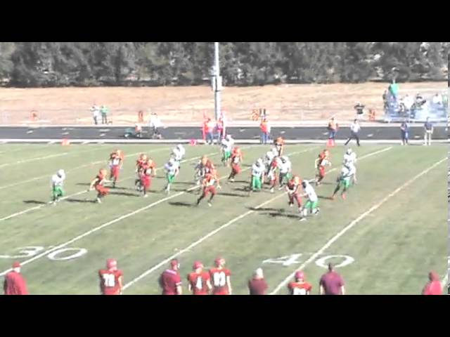 11-2-13 - Arnoldo Maltos-Garcia returns the 2nd half kickoff for 48 yards