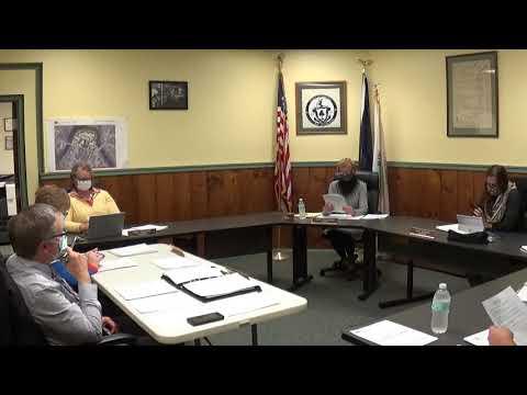 Champlain Village Board Meeting 10-5-20