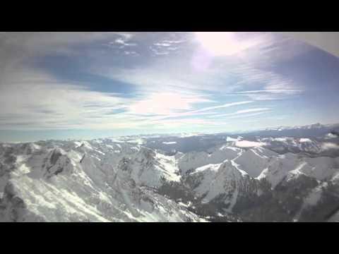 Christmas Eve Colorado Mountain Flight in a 182