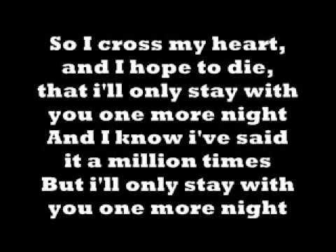 One More Night- Maroon 5 **LYRICS - YouTube