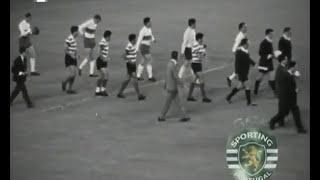 Sporting - 1 x Ol. Lyon - 0 de 1963/1964 jogo de desempate das 1/2 finais Taça das Taças