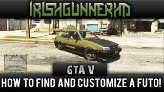 GTA: V How To Find And Customize A Futo Works (Almost