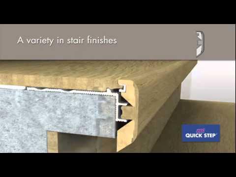 Quick Step Laminate Stair Profile Incizo 5 In 1 Youtube