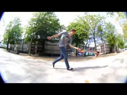 Firing Line Patrick Kurt  Wasted Longboarding