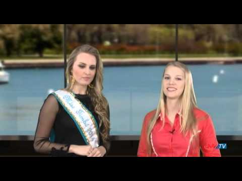 Entrevista com a Miss Timb�, J�lia Mueller