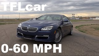 2015 BMW Alpina B6 Gran Coupe 0-60 MPH Racetrack Review: Does AWD=Lap Record?