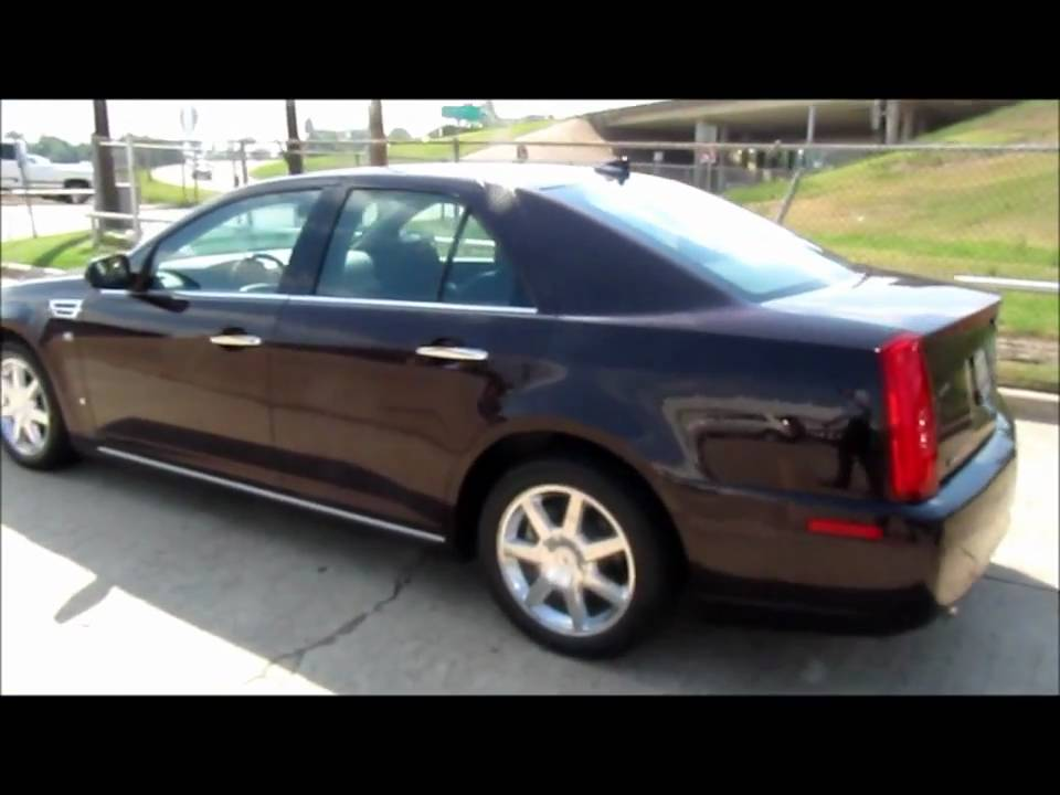 2009 Cadillac Sts Black Cherry For Sale Youtube