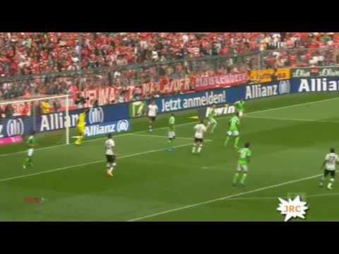 1:0 FC Bayern München - VfL Wolfsburg  28.09.2013 Full Highlights Zusammfassung Tore all goals