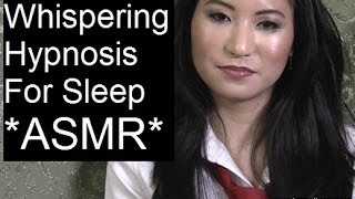 ASMR Whispering Hypnosis For Sleep With Amy 1 Hour