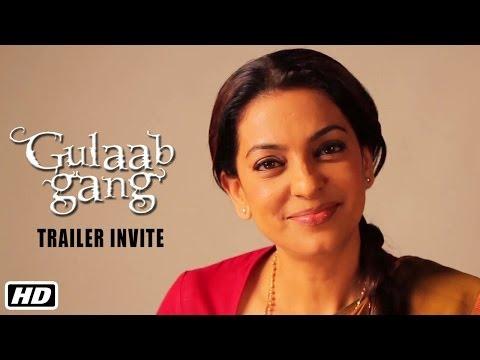 Juhi Chawla invites you to watch the trailer of Gulaab Gang
