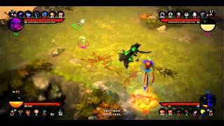 Diablo 3 4 Player Coop PS3 Live Gameplay E3 2013