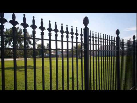Residential and Commercial Iron Fencing