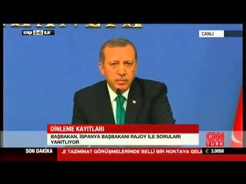 Recep Tayyip Erdoğan'dan Zaman Muhabirine Sert Yanıt 11 Şubat 2014