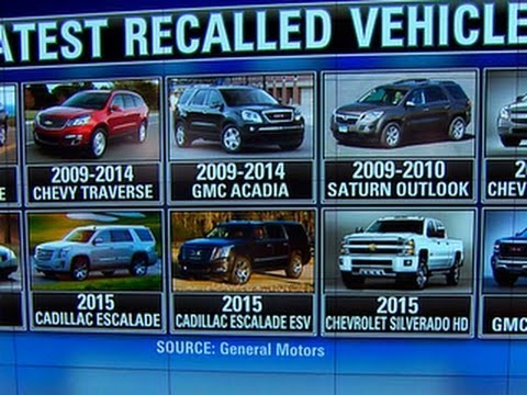 GM recalls an additional 2.4 million vehicles