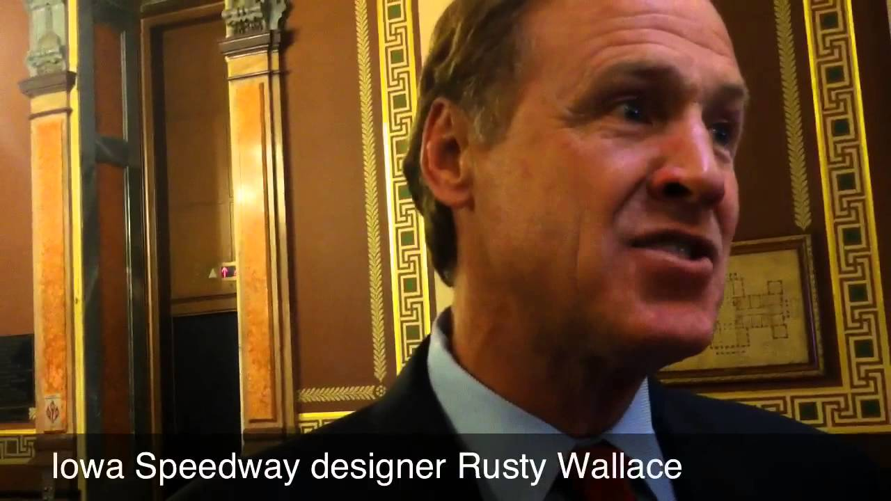 rusty wallace on iowa speedway 39 s pursuit of a cup race youtube. Black Bedroom Furniture Sets. Home Design Ideas