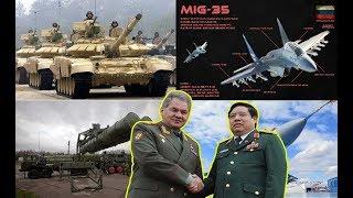 Không còn nghi ngờ gì nữa, Nga xác nhận Việt Nam mua 200 xe tăng, T90S tên lửa S400 và máy bay Mig35