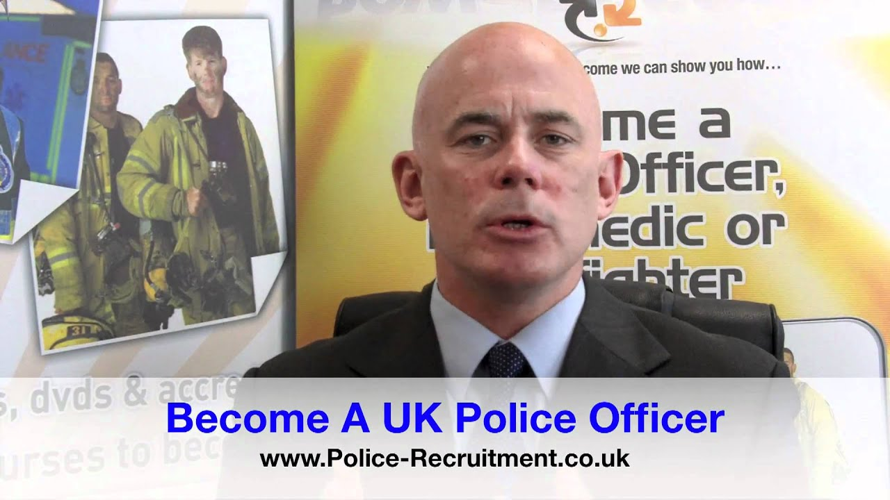 Become a police officer join the uk police force youtube - How to apply to become a police officer ...