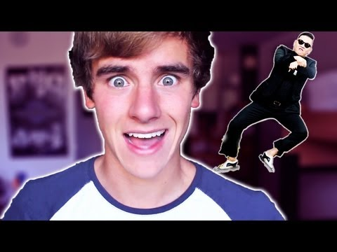 GANGNAM STYLE ON CHATROULETTE | Connor Franta