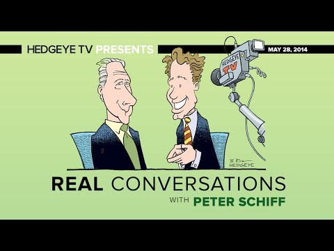 Real Conversations: Peter Schiff Talks Bubbles, Roubini, Bailouts & More