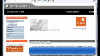 GTB Internet Banking Guide