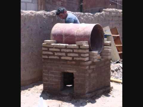 como construir un horno de barro y compartir con la familia.