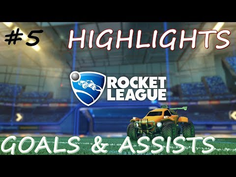 Best Goals, Assists - Rocket League Ranked Highlights - Bölüm 5