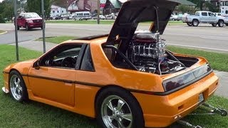1984 Pontiac Fiero Supercharged V-8