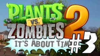 EL OESTE!! Plantas Vs Zombies 2: It´s About Time #3