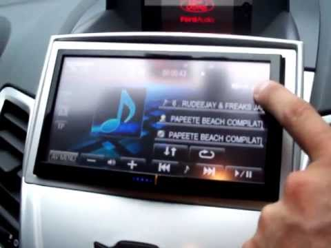 JVC AVX840 + Bit Ten Audison -Fiesta Mk7- - YouTube
