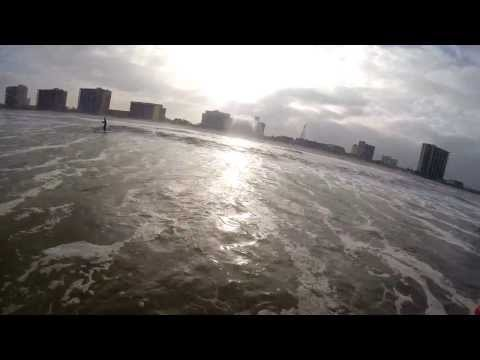 Jacksonville Beach paddle board surfing 2014